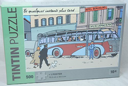 PUZZLE - BUS SWISSAIR - 500 PIECES