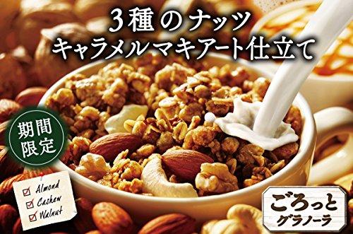 『日清シスコ ごろっとグラノーラ 3種のナッツ キャラメルマキアート仕立て 450g』の2枚目の画像