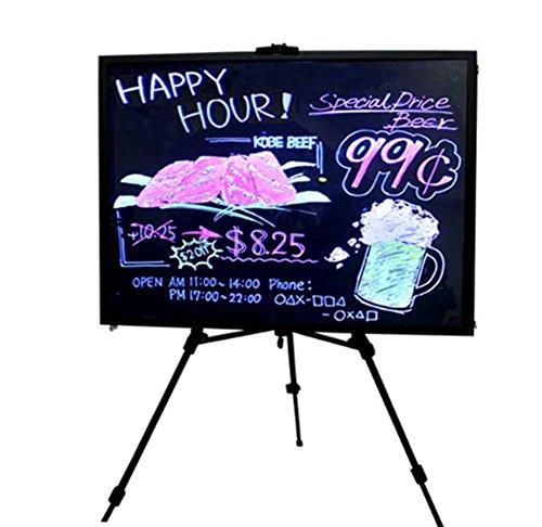 Customized Restaurant Menu Boards Signage Magic and Erasable LED Menu Board 35