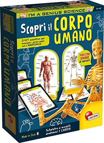 Lisciani Giochi Piccolo Genio Scienze Scopri il Corpo Umano, 48960
