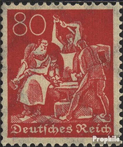Prophila Collection Tedesco Empire 186, Rare Filigrana 2, Cialde 1921 Lavoratori (Francobolli per i Collezionisti)