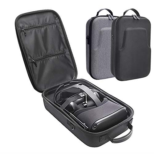 MASiKEN Premium Travel Case for Oculus Quest VR Gaming Headset and Controllers Accessories Protective Bag (Black)