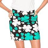 Royal & Awesome Women's Womens Golf Skort Skirt, Paddy par!, US 14/UK 18