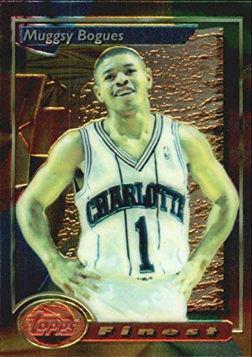 1993-94 Finest #53 Muggsy Bogues NBA Basketball Trading Card
