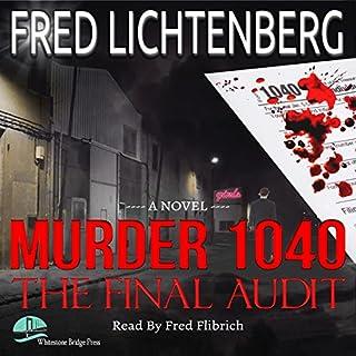 Murder 1040 audiobook cover art