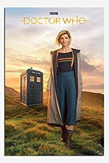Doctor Who 13th Doctor Jodie Whittaker Poster Satin Matt Laminated - 91.5 x 61cms (36 x 24 Inches)