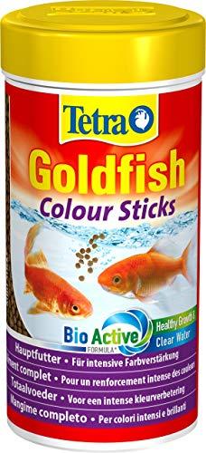 Tetra Goldfish Colour Sticks, Futtersticks für Goldfische zur Entfaltung der natürlichen Farbenpracht, 250 ml
