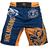 Hardcore Training Fight Shorts For Men Holmgang - Cage Fight BJJ Fitness Boxing MMA-XL...