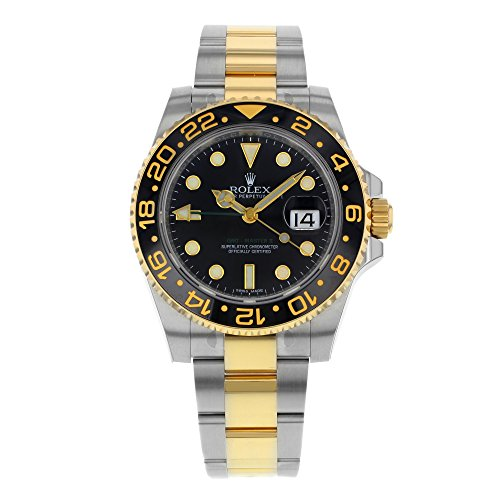 Rolex New GMT-Master II 40mm 116713 Ceramic Steel Gold Box/Paper/Warranty #RL79