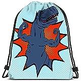 Mei-shop Tyrannosaure Courageux et Fort avec des Membres supérieurs Bien formés Style Pop Art Conceptuel Durable