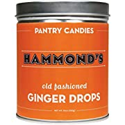 Hammond's Candies Old Fashioned Ginger Drops - 10 Oz