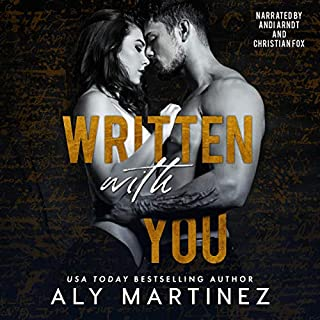 Written with You audiobook cover art