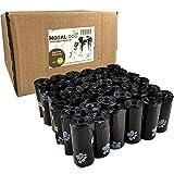 Nobal-Dog 540 Bolsas para excrementos Caca de Perro Gato Animales Mascotas 36 Rollos -19,5x30cm perfumadas y Estampadas [Fabricadas en España]