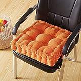 LJYY Materassini Cuscino, Cuscino per cuscino da pavimento futon da 8 cm di spessore in abbondanza Colore Solido-K 20 * 20 pollici
