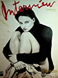 Interview Magazine Jodie Foster / Andie MacDowell September 1989