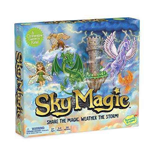 Peaceable Kingdom Sky Magic – Un Juego de Mesa cooperativo de Cambio Continuo