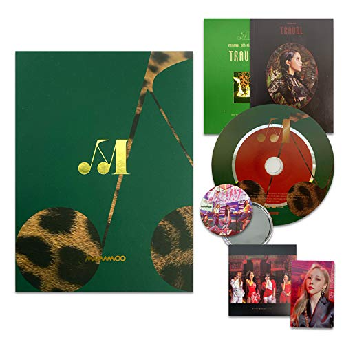 MAMAMOO 10th Mini Album - TRAVEL [ DEEP GREEN ver. ] CD + Booklet + Sticker + Photocard + OFFICIAL POSTER + FREE GIFT / K-POP Sealed