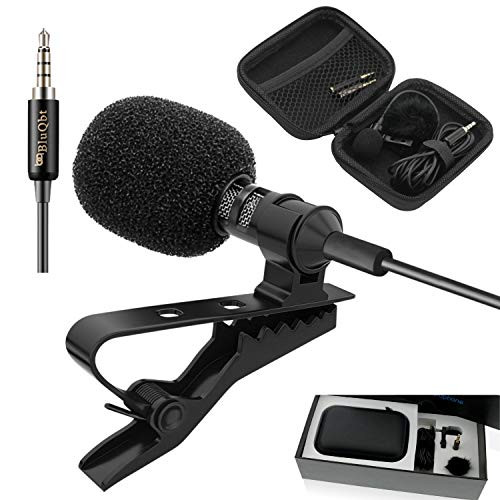 BluQbt Lavalier Lapel iPhone Microphone...