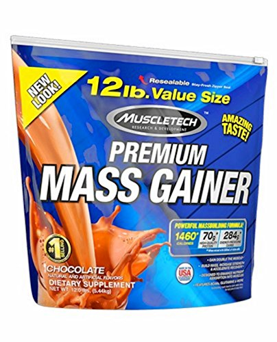 Muscletech 100% Premium Mass Gainer - 5,44 kg Chocolate