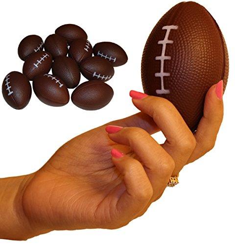 Wilde Tyke Dozen Foam Mini Football Stress Balls (TM)