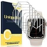 UniqueMe [6 Pièces] Protection écran Compatible avec Apple Watch 40mm Series 6/5/4/ Se TPU Film [Film Flexible] [sans Bulles]