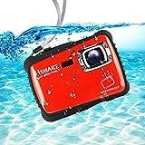 "iSHARE Waterproof Kids Camera, 21MP HD Underwater Digital Camera for Kids with 2.0"""