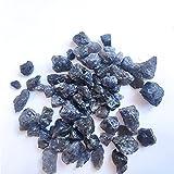 YSJJAXR Cristal áspero Cordierita Natural Iolite Dichroite Mineral Espécimen Agua Zafiro Azul Piedras Preciosas Joyería Procesamiento Acuario Decoración Decoración hogareña
