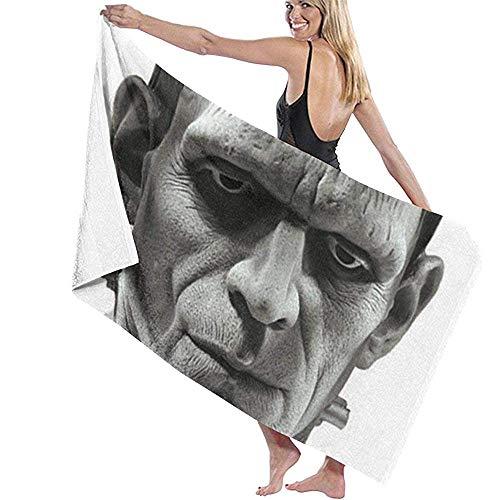 Frankenstein The Elements Soft Lightweight Absorbent für Badepool Yoga Pilates Picknickdecke Handtücher 80x130cm