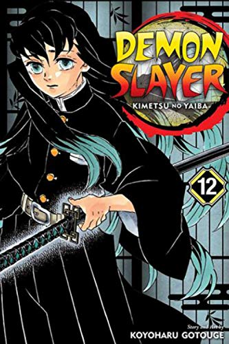 """Composition Notebook: Demon Slayer - Kimetsu no Yaiba Vol.12 Anime Journal/Notebook, College Ruled 6"""" x 9"""" inches, 120 Pages"""