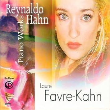 Piano Works of Reynaldo Hahn