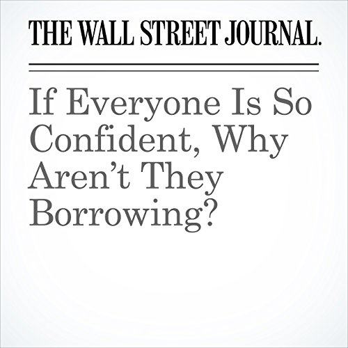 If Everyone Is So Confident, Why Aren't They Borrowing? copertina