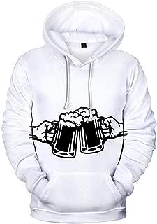 ファッション衣類、メンズセーターシャツオクトーバーフェスト3D印刷長袖パーカービール祭りトップス