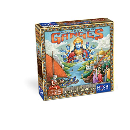 HUCH! Rajas of Ganges-The Dice Charmers Strategiespiel Strategisspiel, Neuheit