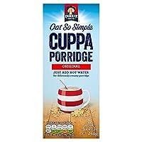 クエーカーオーツ麦非常にシンプル杯の紅茶のお粥Orginal 5のX 49.5グラム (x 4) - Quaker Oat So Simple Cuppa Porridge Orginal 5 x 49.5g (Pack of 4) [並行輸入品]