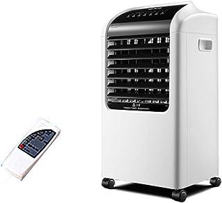 BD.Y Ventilador de Aire Acondicionado Ventilador de enfriamiento de Agua fría Individual Humidificador de Silencio de 65 w con Control Remoto, Tanque de Agua Grande de 8 l, para restau