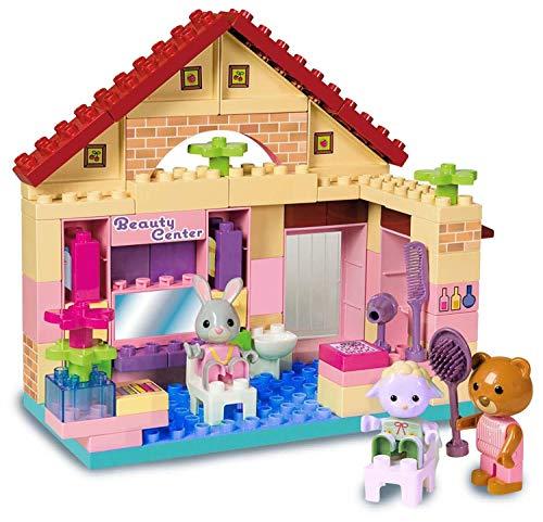 Unico- ANDRONI Giocattoli Costruzioni Plus Max Family B/Salon, Multicolore, 8940-00max