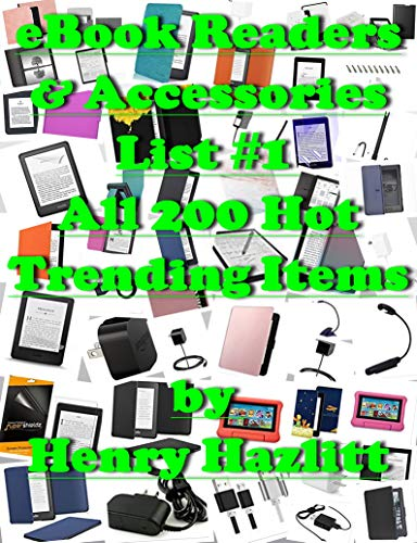 eBook Readers & Accessories List #1 All 200 Hot Trending Items (English Edition)