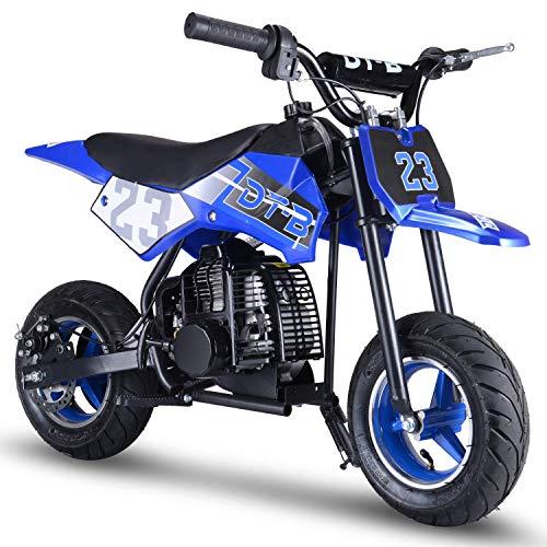 2. V-Fire 2-Stroke 51CC Gas Dirt Bike Mini Motorcycle