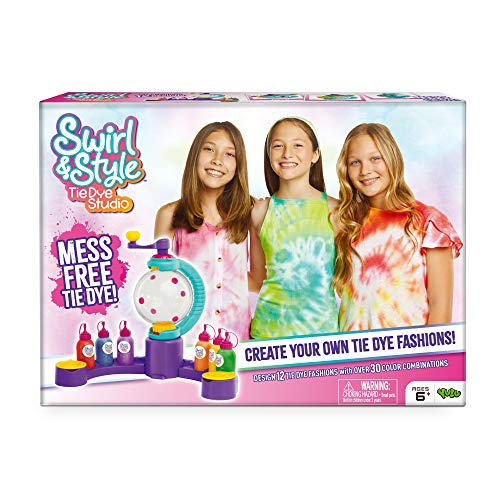 Swirl and Style Tie Dye Studio - Mess-Free Tie Dye Creations - DIY Patterns | Easy Instructions