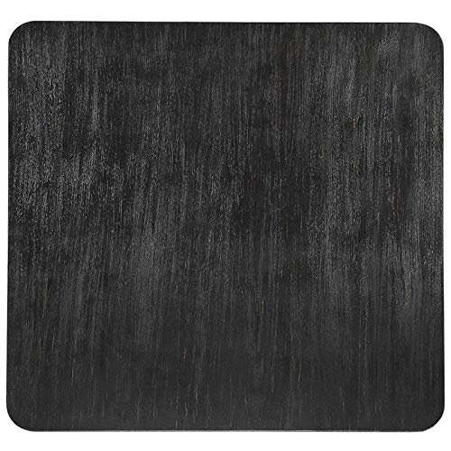 Furniture of America Dining Table, 48' Square, Antique Black