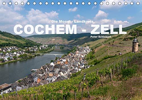 Die Mosel - Landkreis Cochem - Zell (Tischkalender 2021 DIN A5 quer)
