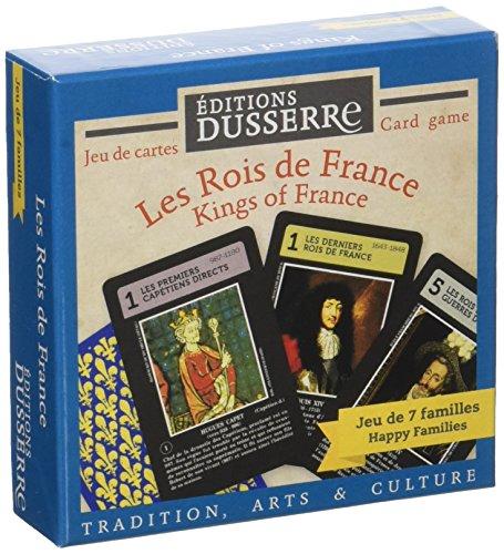 Héron - F03 - Cartes - Jeu de 7 familles - Les Rois de France