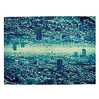 500ピース ジグソーパズル 消滅都市 パズル 木製パズル 動物 風景 絵 ピクチュアパズル Puzzle 52.2x38.5cm