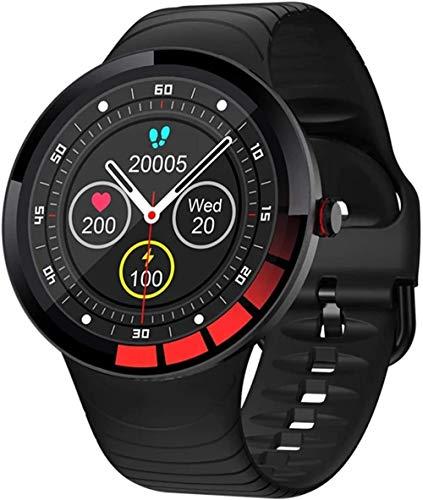 E3 Smart Watch Hombres s IP68 Smartwatch Reloj Deportivo Frecuencia Cardíaca Presión Arterial Seguimiento de Salud Regrabar Ver Música Reproducción Aplicable a Android IOS