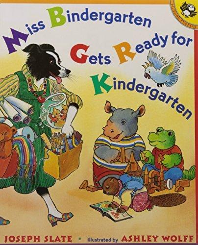 By Joseph SlateMiss Bindergarten Gets Ready for Kindergarten (Miss Bindergarten Books)[Paperback] July 9, 2001