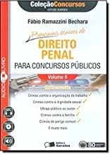 Principais Tópicos Direito Penal Para Concursos Públicos - Volume 6. Coleção Concursos. Audiolivro