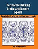 Perspective Drawing Grid in Architecture 6-point