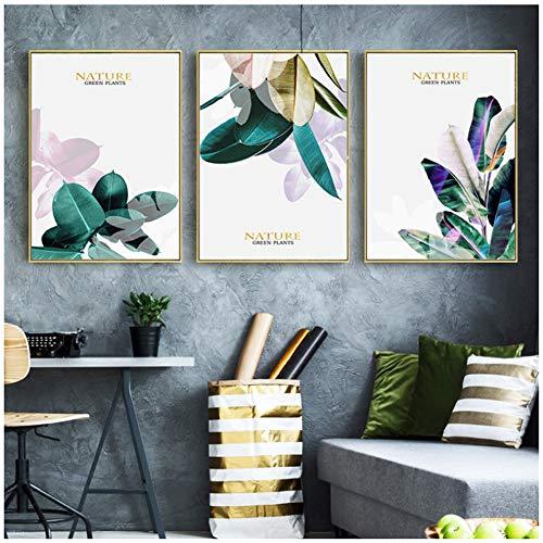 sjkkad Usine Maison Mur Toile de Fond Decor Nordic Toile Peintuur Mur Art Impressions et aapjes Modern Image Pour Salon -50x70cm No Frame
