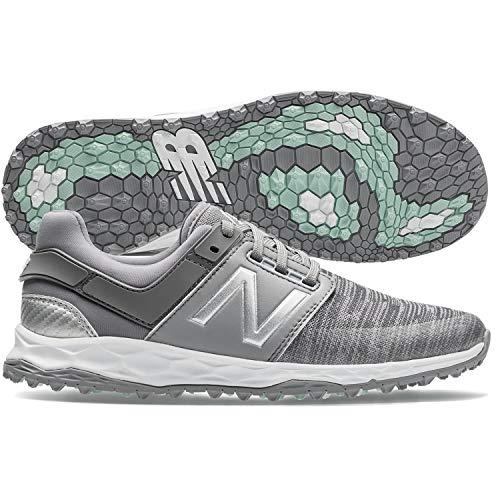 New Balance Women's Fresh Foam LinksSL Golf Shoes, Grey, 9, B