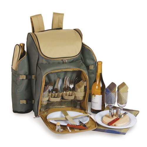 Price comparison product image Picnic Plus Tandoor 4 Person Deluxe Picnic Backpack